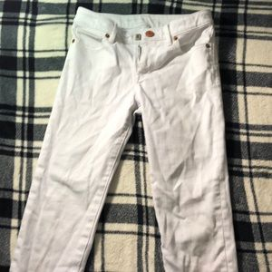 """Great condition White """"Gap kids"""" jeans"""